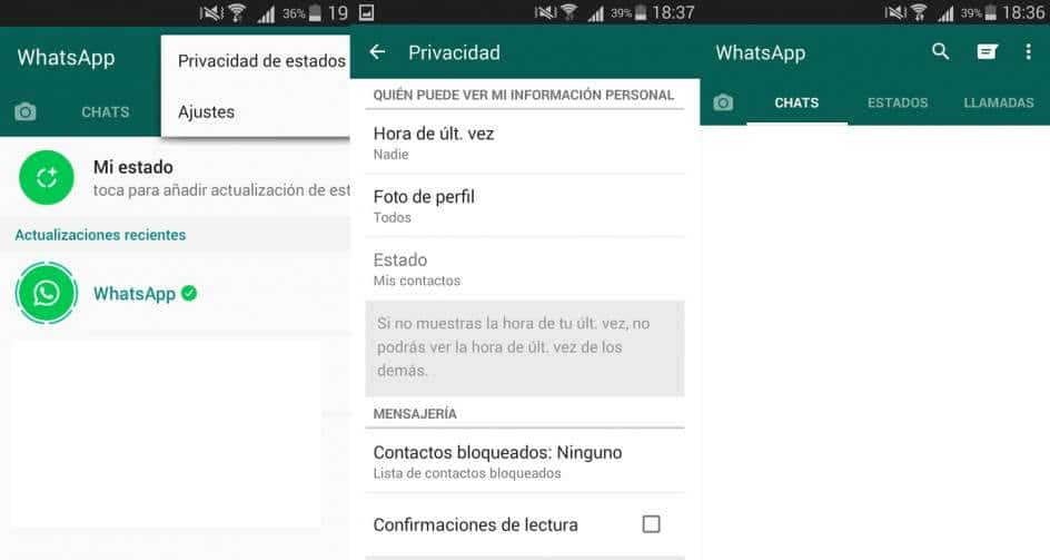 estados whatsapp web